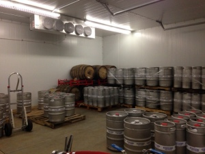 Kegs and Bourbon Barrels