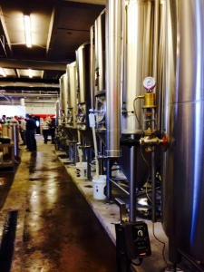 River Rat Brewery Tanks