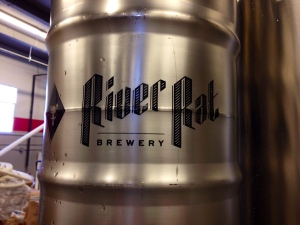 River Rat Brewery Keg