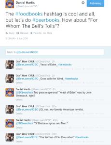 Twitter #beerbooks